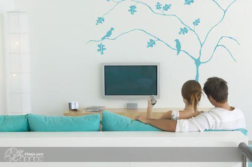 影视墙设计3 涂涂手绘彩绘壁画工作室作品 家居设计图库 效果图,