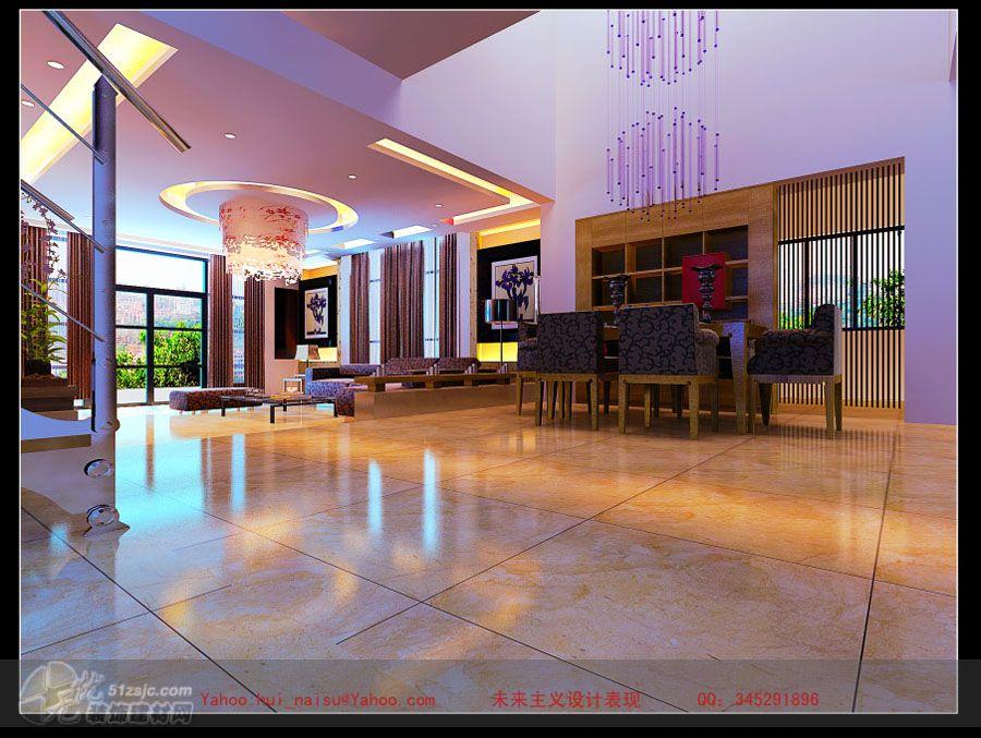某别墅一楼餐厅 作品 家居设计图库 效果图,实景图,样板间,建筑高清图片