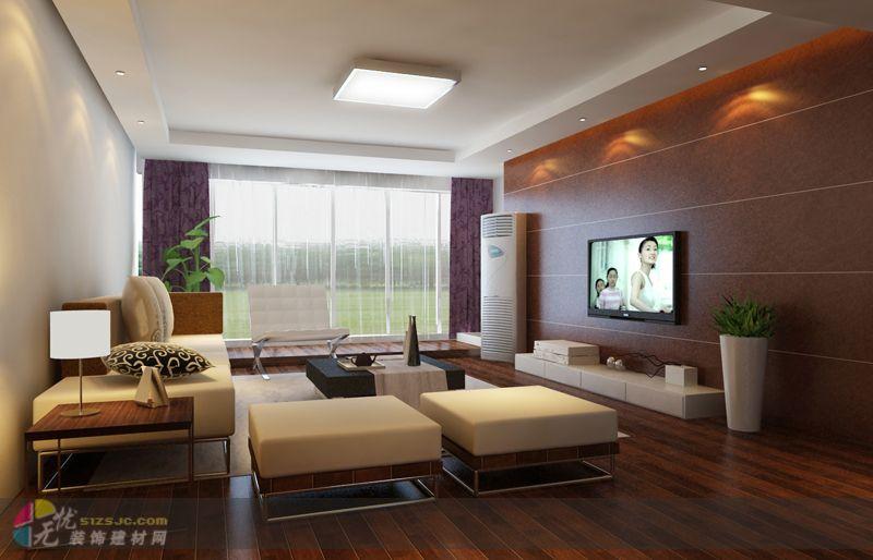 室内客厅效果图 设计展示 济南惠民建筑装饰设计工程有限