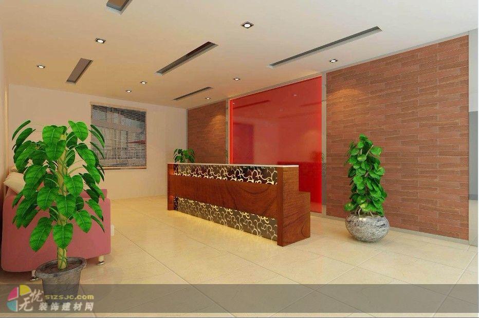 办公楼前厅 作品 家居设计图库 效果图,实景图,样板间,建筑设计