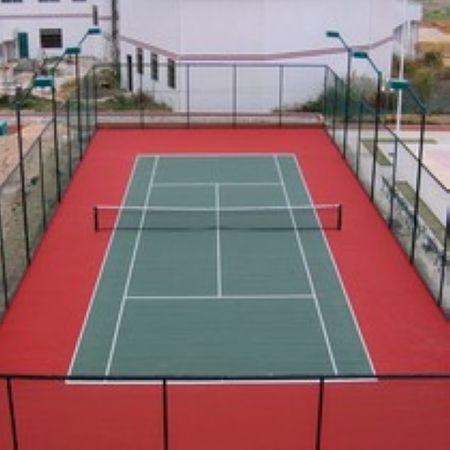 硅pu排球场地 案例展示 秦皇岛添源建筑安装工程有限公司